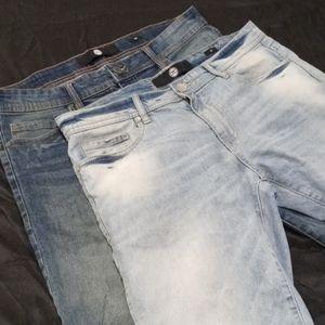 🖤Men's 2 Pair Jordan Craig Jeans Shorts